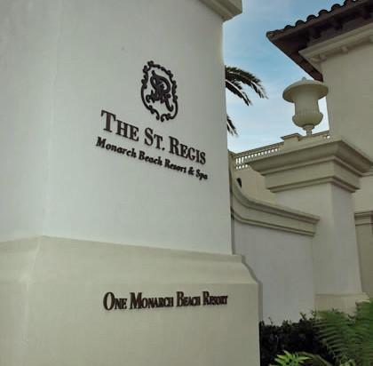 St. Regis Entry Monument Sign
