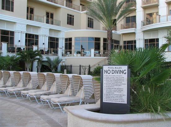 Resort Pool Rules