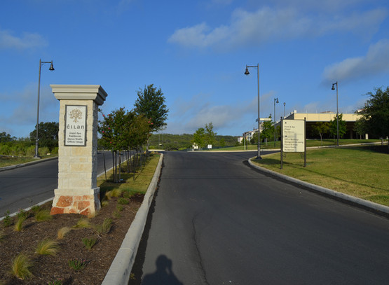 Entry Monument & Direction