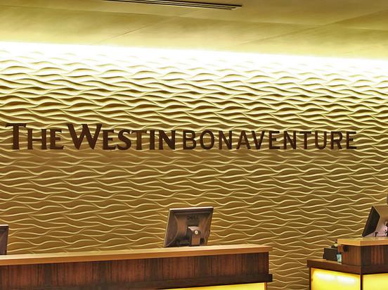 Westin Front Desk Sign