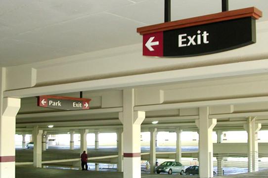 Parking Wayfinding Signage