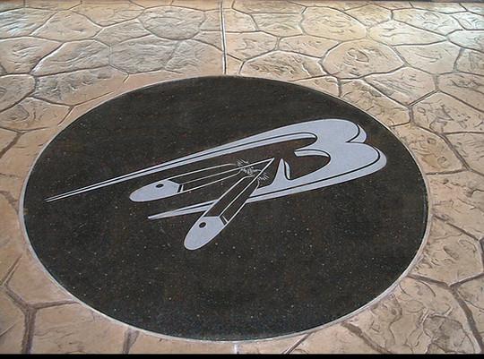 Etched Granite Logo