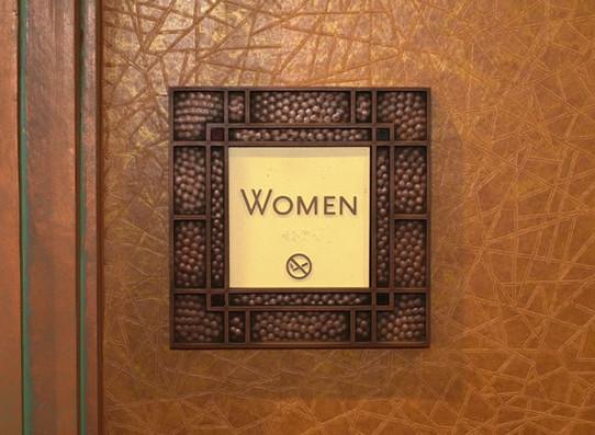 Restroom Code Sign