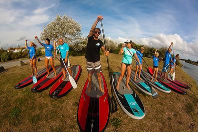stand up paddle groupes et comités d'entreprises