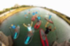 balades sympas avec l'école de stand up paddle octosup