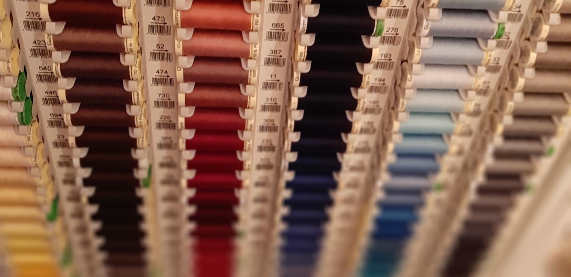 Garne in allen Farben von Güterman
