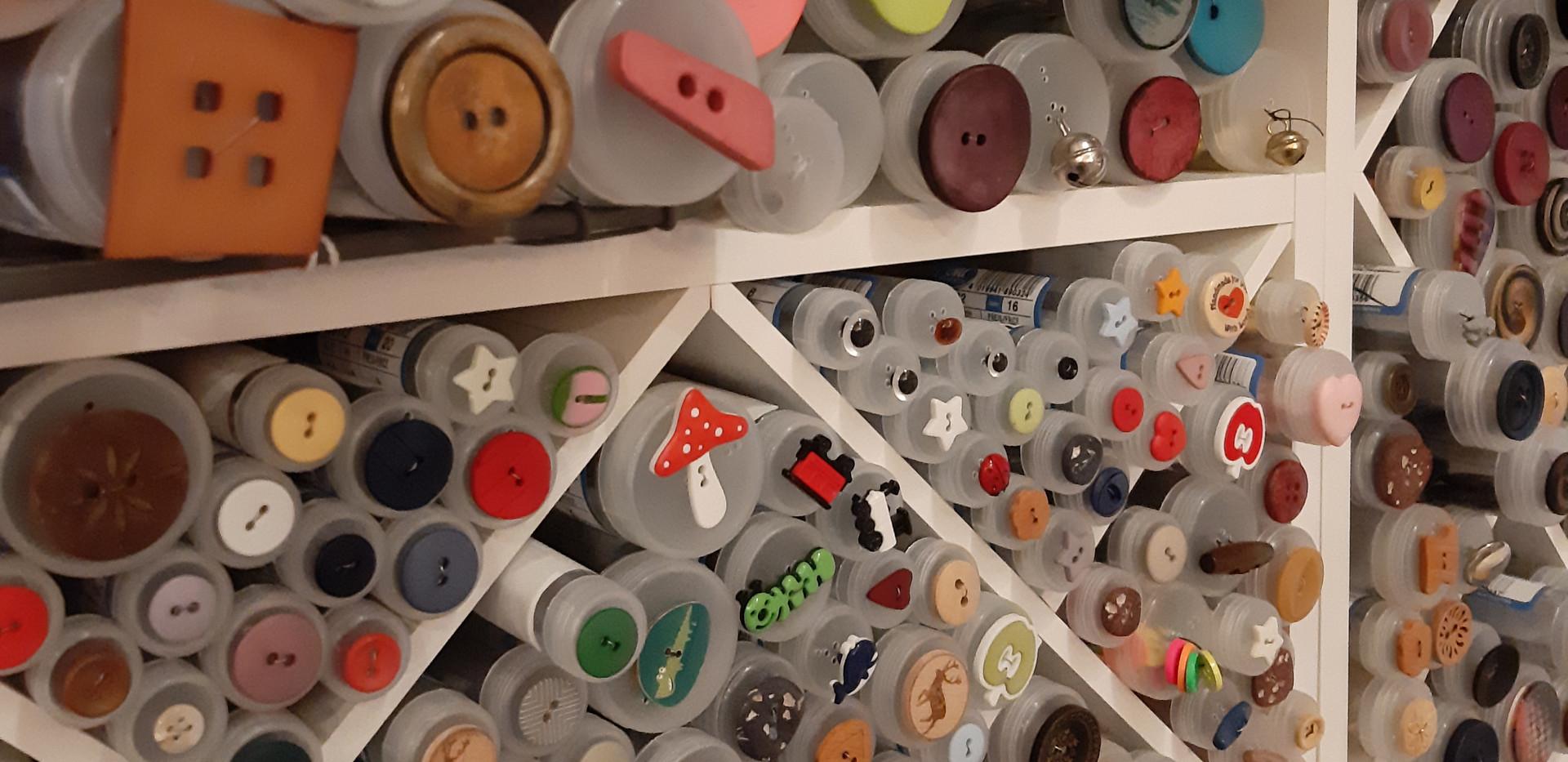 ganz viele Knopfvarianten