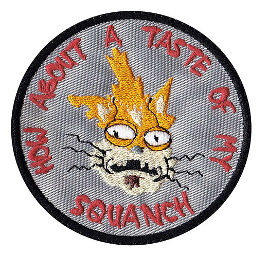 Taste Of My Squanch Rick And Morty - Glue Back To Sew On