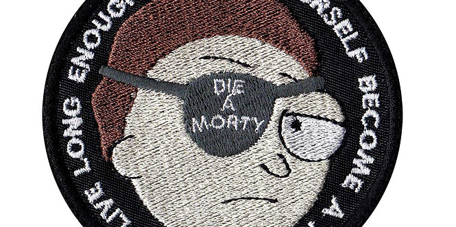 Die Morty Or Become Rick And Morty - Velcro Back