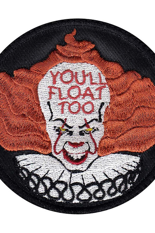 New IT Pennywise Inspirte Art - Glue Back To Sew On