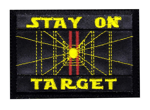 Stay On Target Star Wars - Glue Back To Sew On