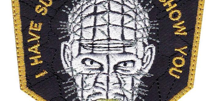 Hellraiser Pinhead Horror Movie - Velcro Back