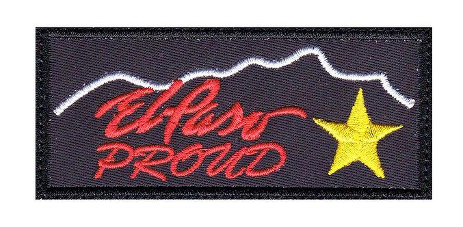 El Paso Texas Proud - Velcro Back