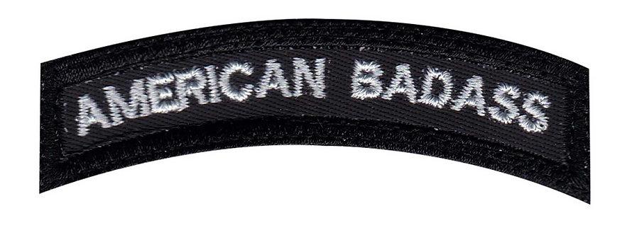 American Badass Small Rocker - Velcro Back