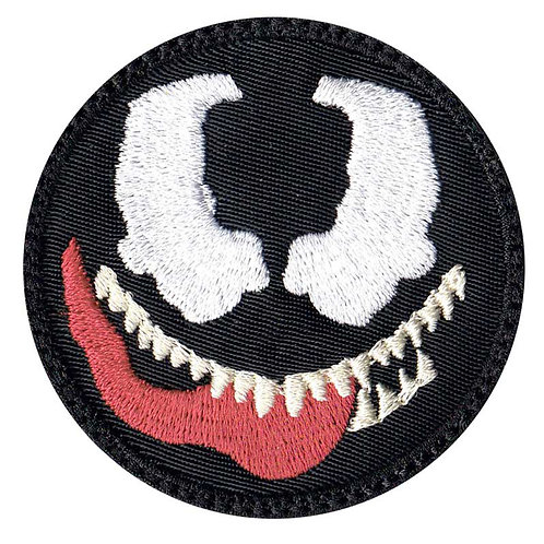 Venom Cartoon Simple Head - Velcro Back