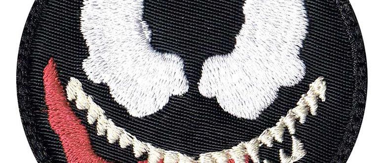 Venom Cartoon Simple Head - Velcro Back