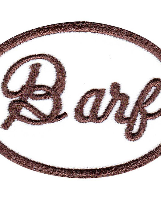 BARF Spaceballs Cosplay Nametag - Glue Back To Sew On