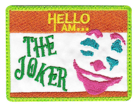 I Am Joker Arthur Fleck - Velcro Back