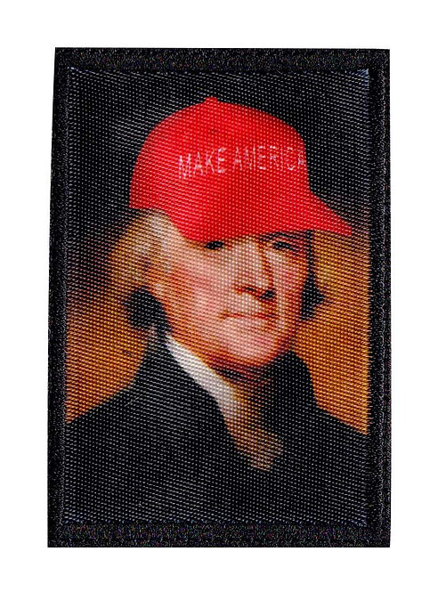 Funny Thomas Jefferson Make America Parody - Glue Back To Sew On