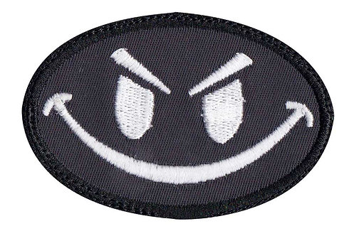 Smiley Face Glow In The Dark Option Glow In The Dark - Velcro Back