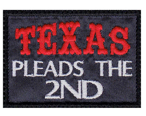 Texas Pleads The 2Nd Pro Gun  2Nd Amendment - Glue Back To Sew On