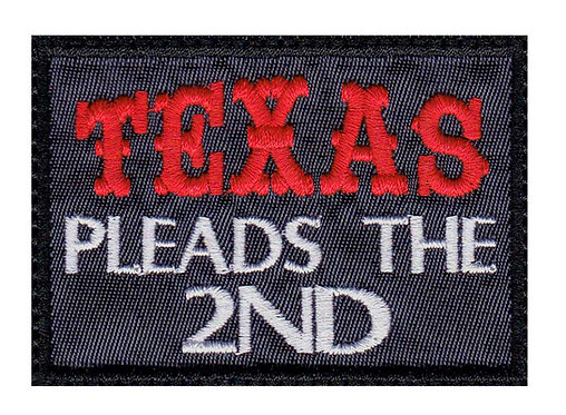 Texas Pleads The 2Nd Pro Gun  2Nd Amendment - Glue Back To Sew On
