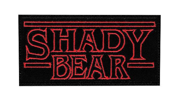 Shady Bear Stranger Things Art Bear Culture Lifestyle - Velcro Back