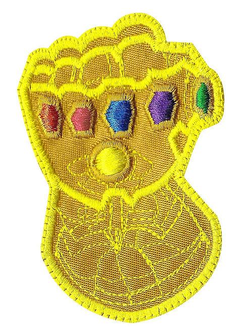 Infinity Gauntlet Stones Thanos Avengers - Velcro Back