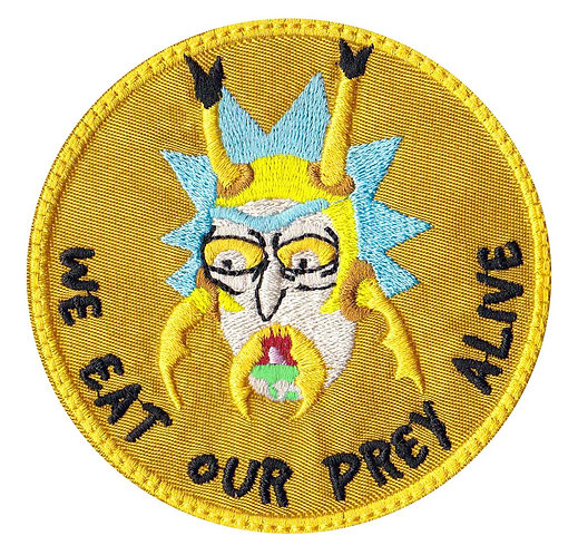 Wasp Hornet Rick And Morty - Velcro Back