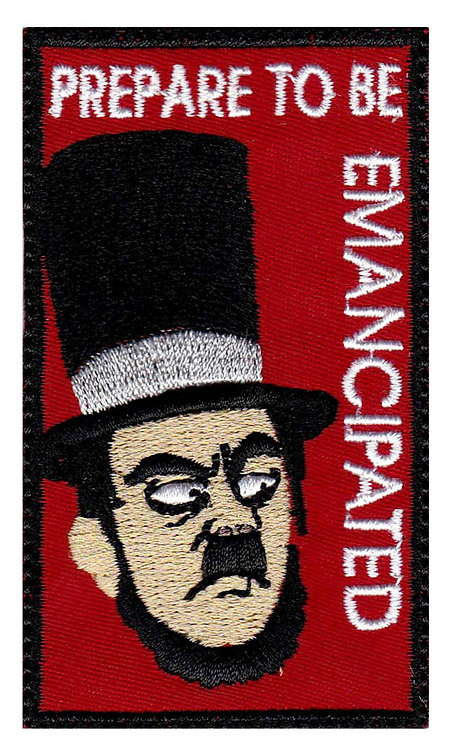 Rick And Morty Abradolf Lincler Emancipated - Glue Back To Sew On