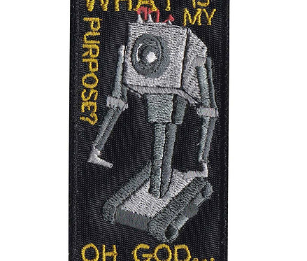 What Is My Purpose Robot Rick And Morty - Velcro Back
