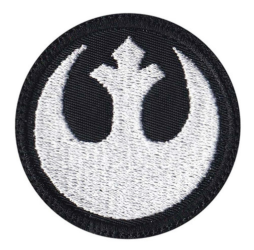 Rebel Alliance Star Wars - Glue Back To Sew On