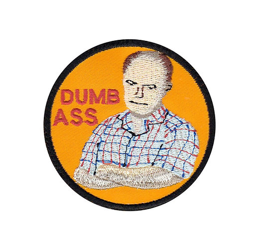 Red Forman Dumbass Badge 70S Show - Glue Back To Sew On