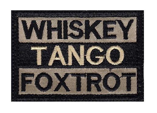Whiskeygo Foxtrot - Velcro Back