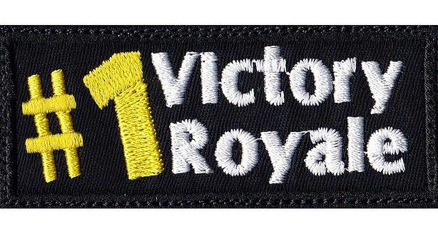 #1 Battle Royale Pubg Fortnite - Glue Back To Sew On