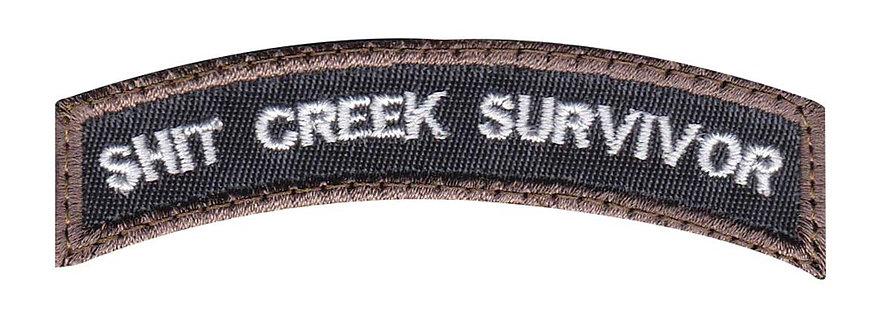 Shit Creek Survivor - Velcro Back
