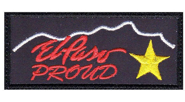 El Paso Texas Proud - Glue Back To Sew On