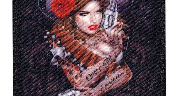 Sexy Mamacita Latina Guns 187 - Velcro Back