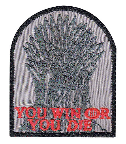 Got Game Of Thrones Iron Throne - Glue Back To Sew On