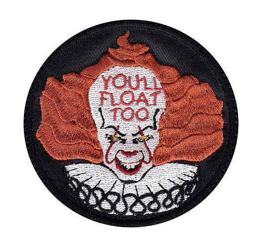 NEW Pennywise IT You'll Float Too - Velcro Back