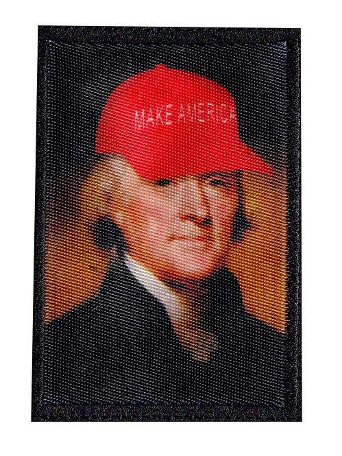 Funny Thomas Jefferson Make America Parody - Velcro Back
