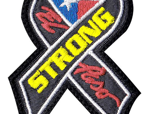 Texas El Paso Strong Support Ribbon - - Glue Back To Sew On