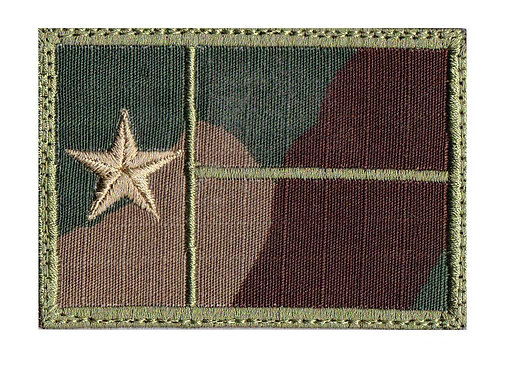 Texas Full Flag - Velcro Back