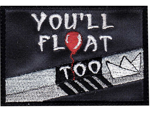 Pennywise IT You'll Float Too Gutter - Velcro Back