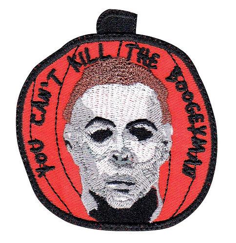 Michael Myers Halloween Pumpkin Horror Movie - Velcro Back