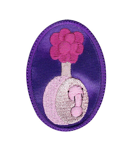 Plumbus Rick And Morty Purple - Velcro Back