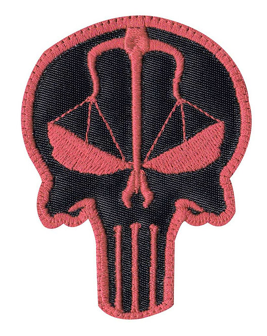 Punisher Scales Of Justice Revenge - Velcro Back
