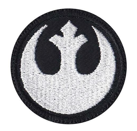 Rebel Alliance Star Wars Inspired Square - Velcro Back