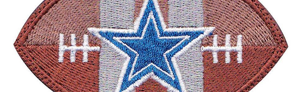 Dallas Cowboy Football Star - Velcro Back