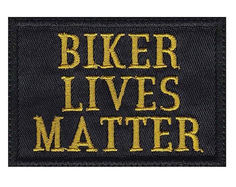 Biker Lives Matter Motorcycle Pride Funny - Glue Back To Sew On